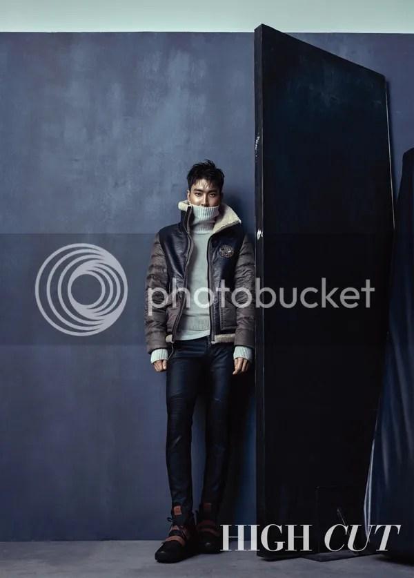 Siwon para High Cut, noviembre del 2015. 4