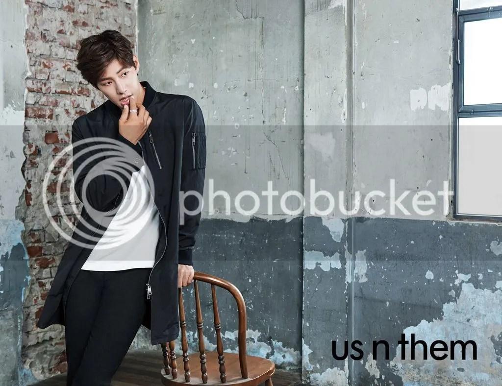 Song Jae Rim para us n them, otoño 2015. Bomba Soju (5)