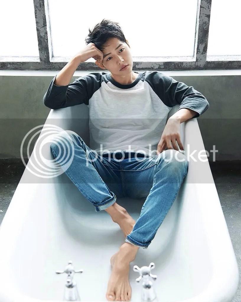 Song Joong Ki para TOPTEN Corea, verano del 2016. 25