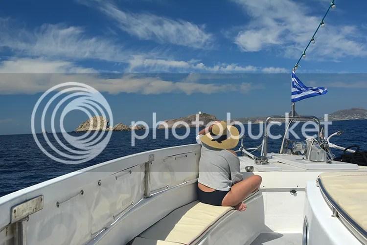 Boat trip Paros Antiparos
