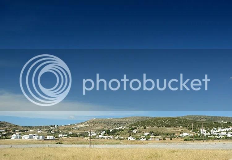 Paros island countryside