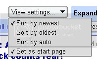 google reader save settings