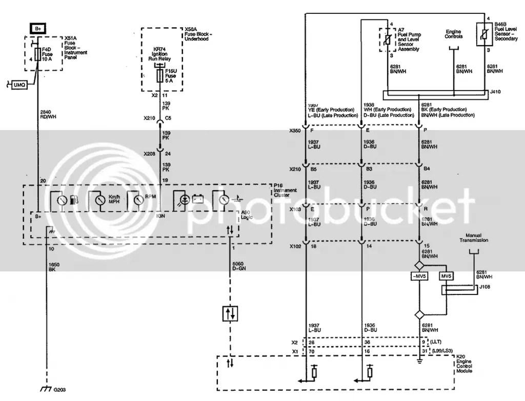 Camaro Instrument Wiring Diagram