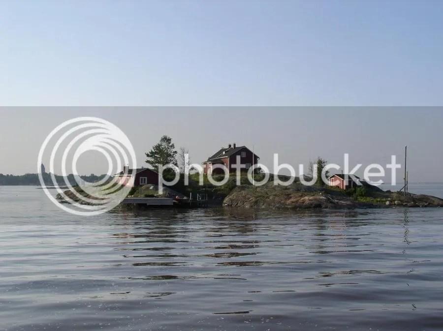 05.08.2004 - Helsinki - Insel im Fjord
