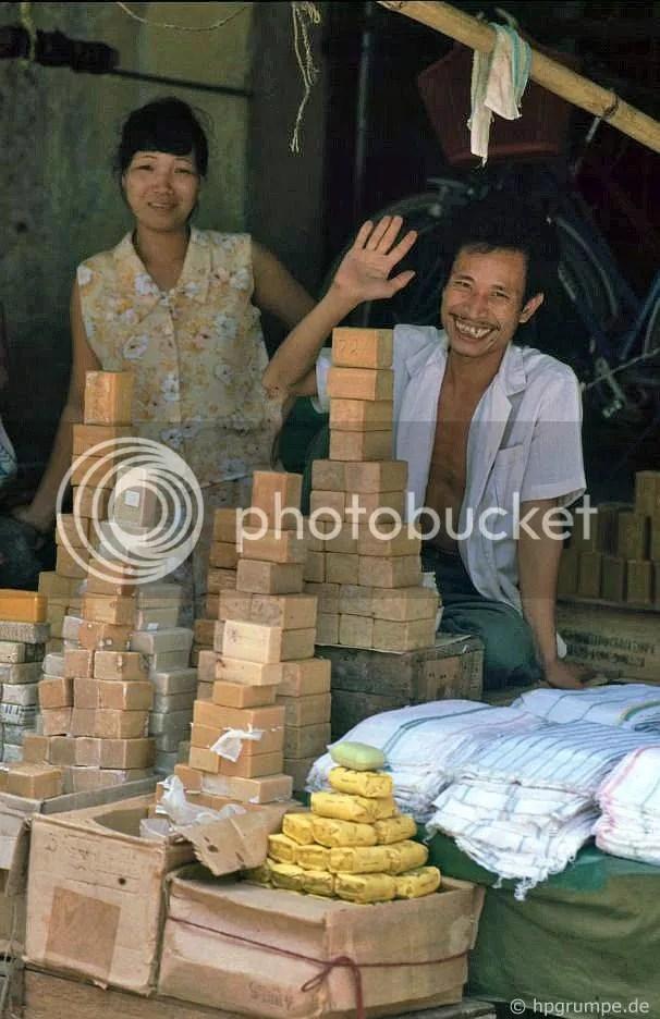 Hà Nội-Altstadt: nhân viên bán hàng xà phòng