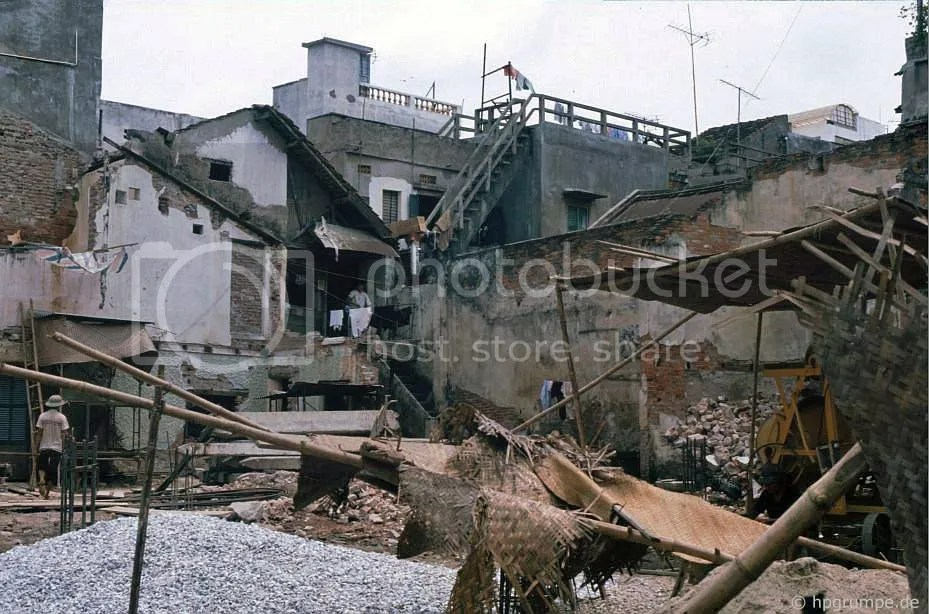 Hà Nội-Altstadt: nhà phá dỡ