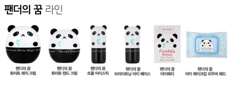 collection panda tony moly