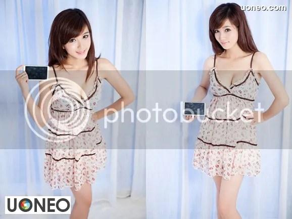 Beautiful China Girl Uoneo Com 05 Beautiful Chinese Girl with Suggestive Phone