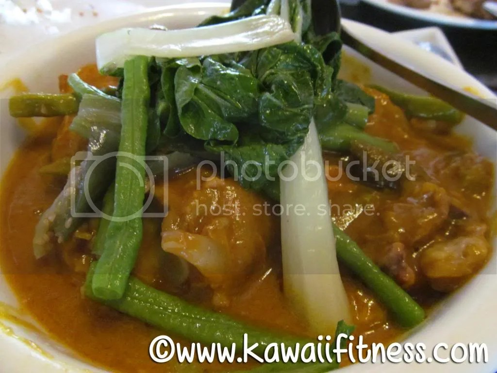 Kare Kare (pigs feet and veggies in peanut sauce)