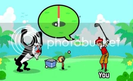 Monkey Golf