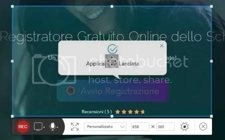COME REGISTRARE LO SCHERMO CON AUDIO ON LINE