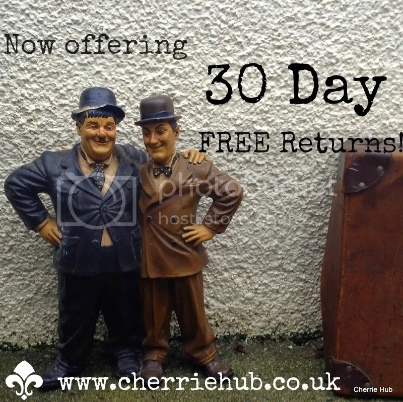 Get 30 Day FREE Returns only now with Cherrie hub!