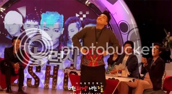Fan chụp ảnh Big Bang trong buổi ghi hình cho Go Show