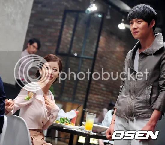 Yoochun - Filming Blacksmith CF
