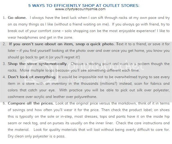 shopping tips, sale shopping, style advice