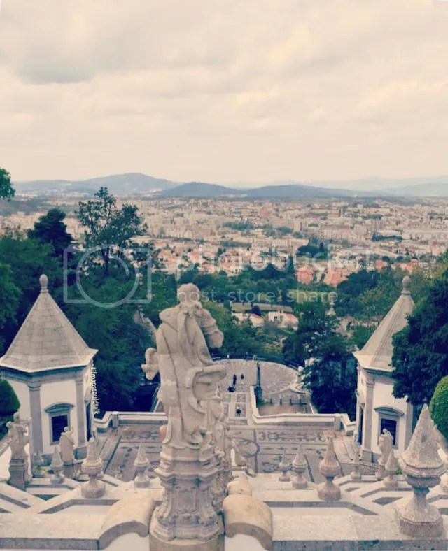 The view of Braga from Bon