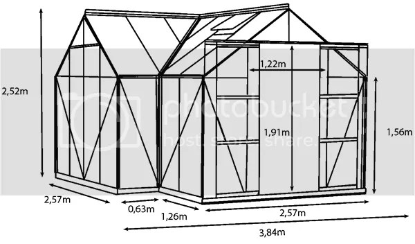 vitavia sirius greenhouse plan