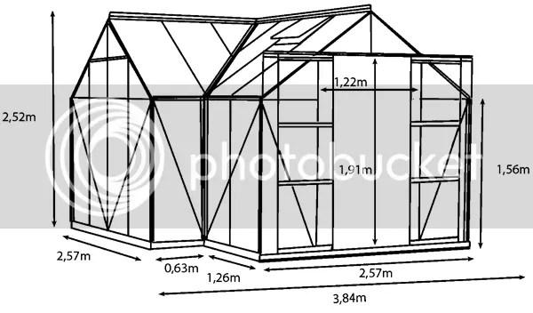 vitavia sirius greenhouse plan