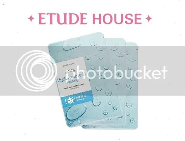 Etude House Hyaluronic Acid Face Mask