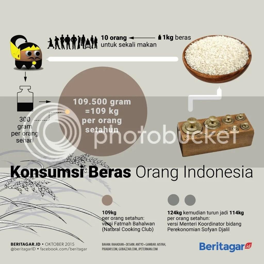 konsumsi beras