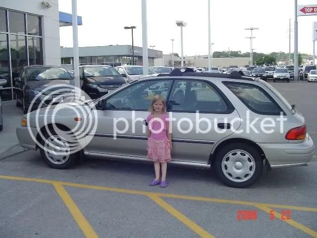 My 10 yrs old Subaru