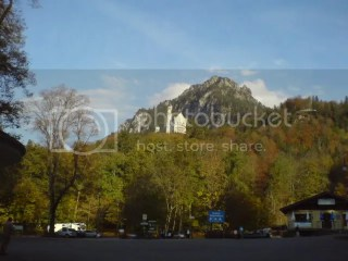 Neuschwanstein from Ze bus stop