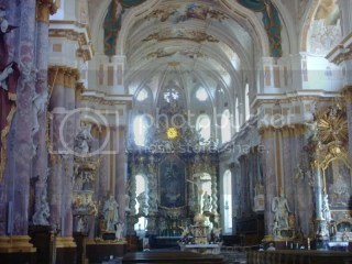 Just outside Munich, a beautiful church worth seeing