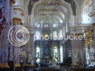 Just outside Munich, a beautiful church worth seeing