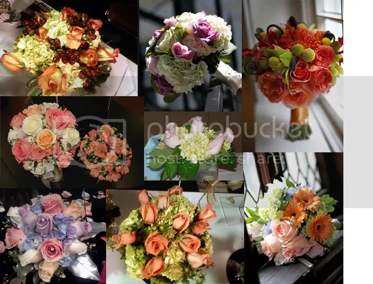 flower inspiration board