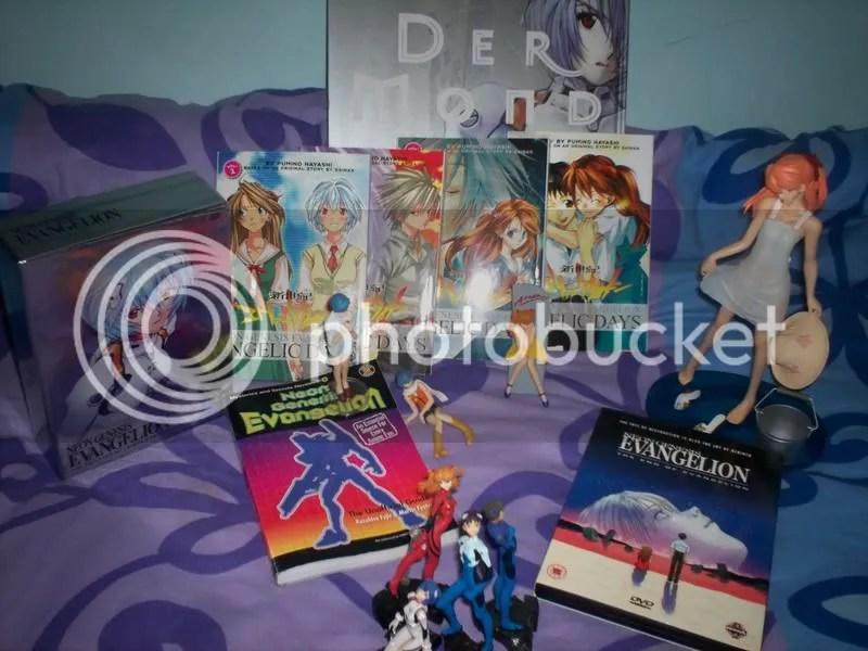 My Evangelion stuff