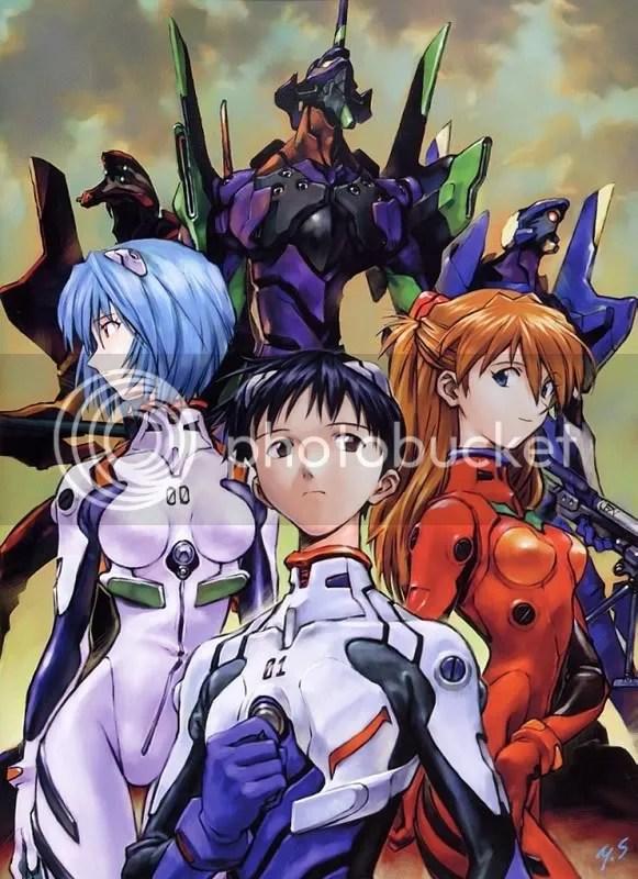 Rei, Shinji, Asuka