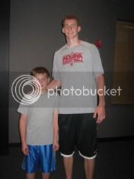 Aiden and Cody Zeller, The Big Handsome