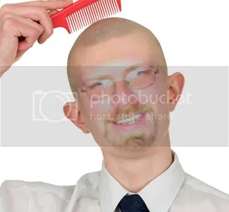 Bald is beautiful. Thanks Bic4Good (http://www.bic4good.com)