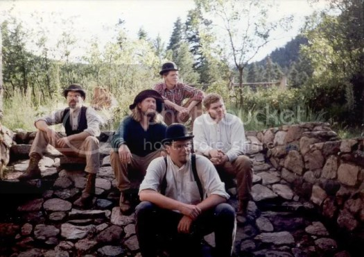 The 1996 Crater Lake Staff at Philmont Scout Rancth