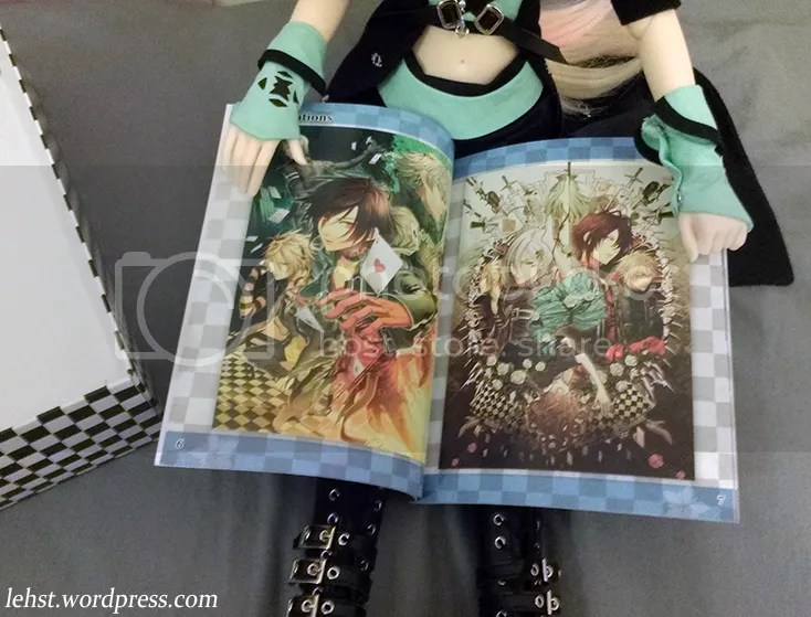 amnesia memories le limited edition english keepsake box artbook
