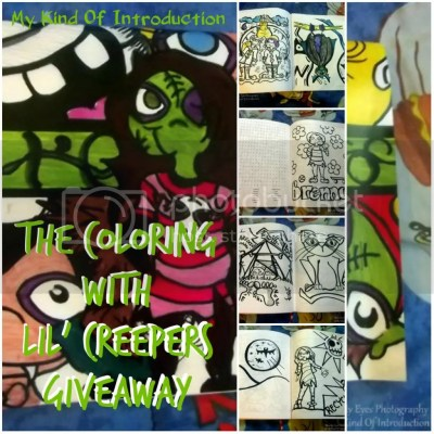 Coloring with Lil Creepers Giveaway collage photo LilCreeperscollage_zps6ff23a11.jpg
