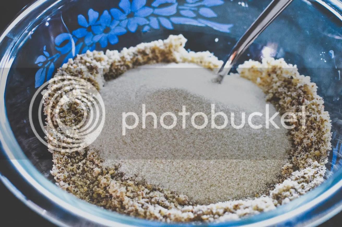 Hazelnut Meal and Caster Sugar