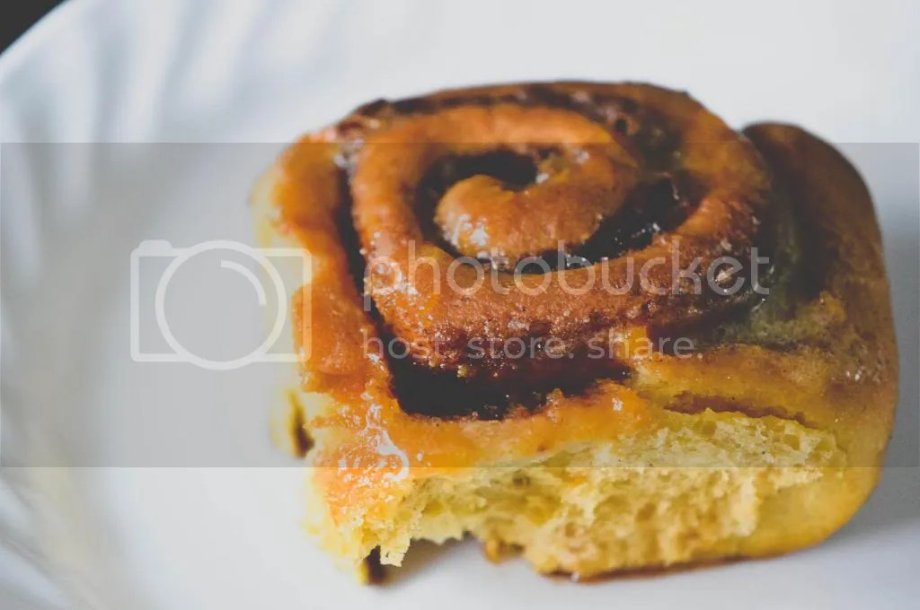 Pumpkin and Coconut Milk Cinnamon Buns