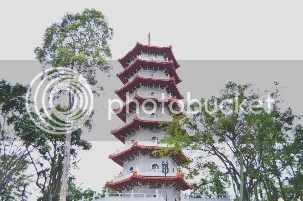 Singapore Chinese Gardens Pagoda