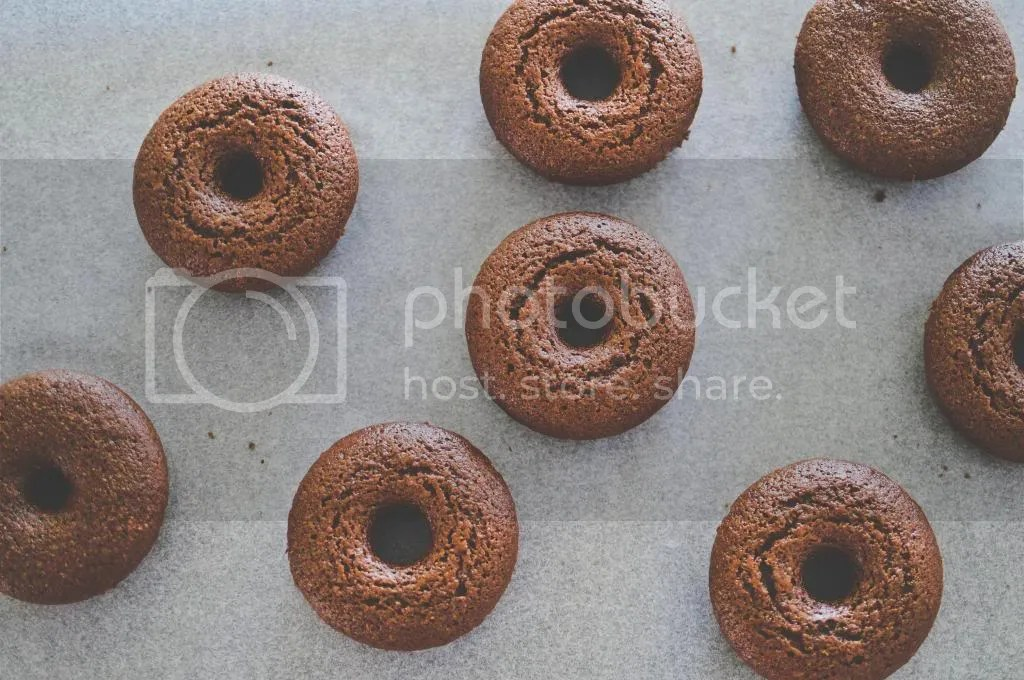 Baked Chocolate Donuts