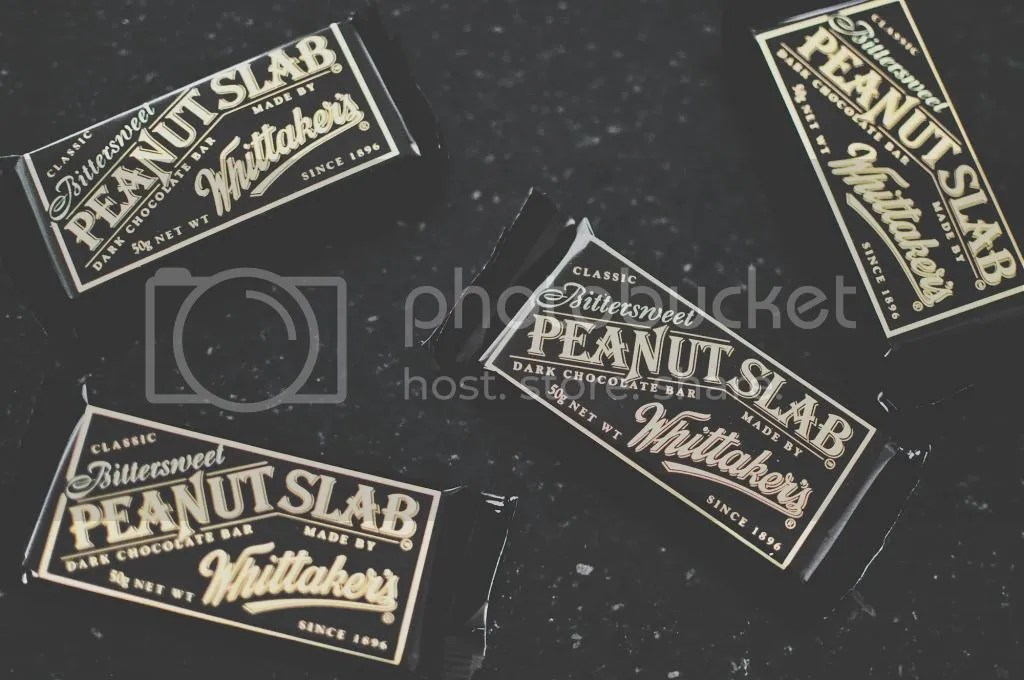 Whittaker's Classic Bittersweet Peanut Slab Dark Chocolate Bars