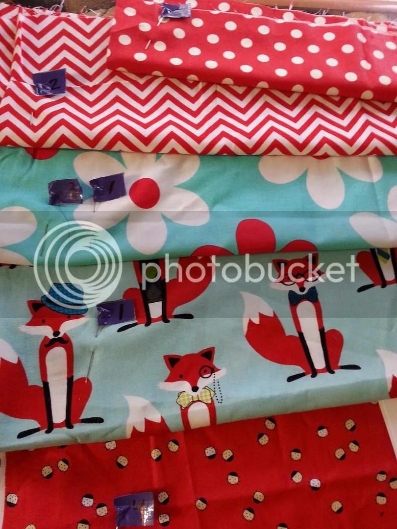 Purse fabric sorted