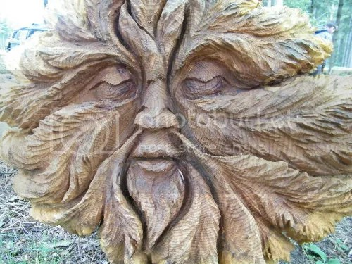 Greenman by Tommy Craggs