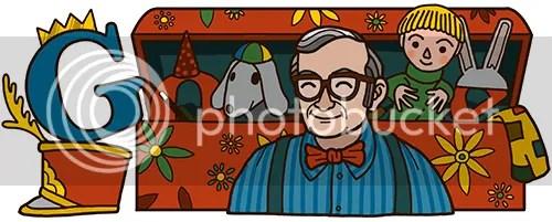 Mr. Dressup Google Doodle