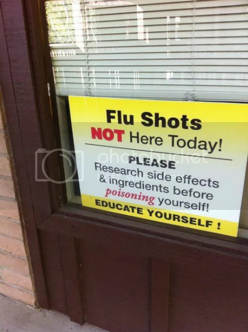 No Flu Shots