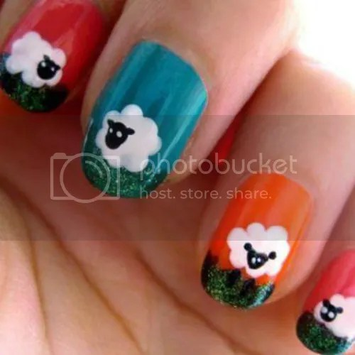 Sheepy Nails