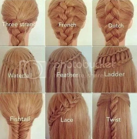 Different Types Of Braiding, I Choose Fishtail
