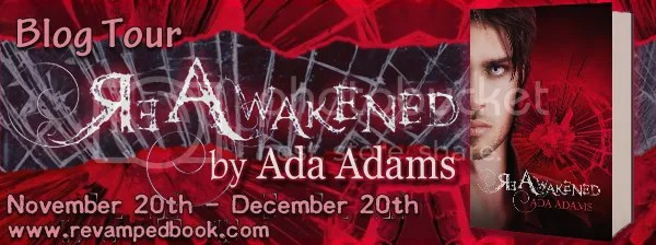 Blog Tour - ReAwakened by Ada Adams