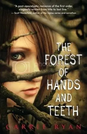 The Forest of Hands and Teeth by Carrie Ryan cover - Review