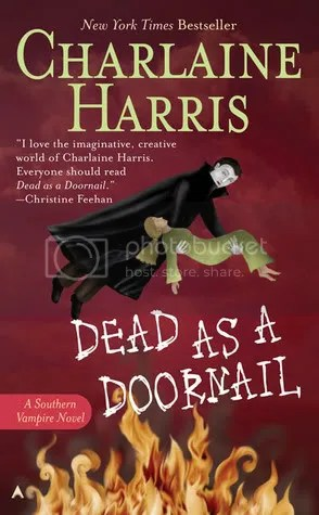 Dead as a Doornail by Charlaine Harris Cover - Review